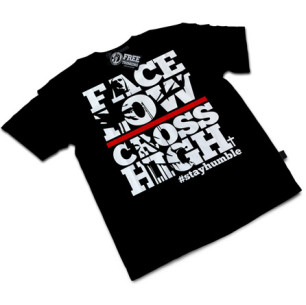 Face Low, Cross High Tee
