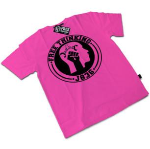 Pink Free Thinking Tee