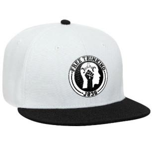 White & Black Snapback