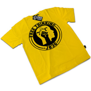 Yellow Free Thinking Tee